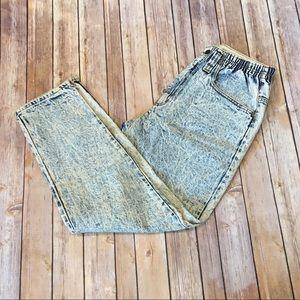 High Waisted Mom Vintage acid washed Gitano jeans